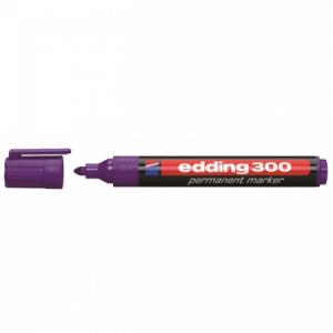 Permanentný popisovač edding 300 fialový