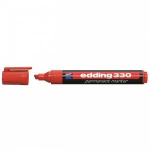 Permanentný popisovač edding 330 červený
