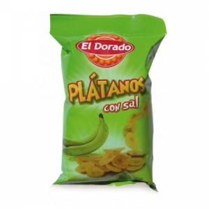 Banánové chipsy Platanos 100g slané