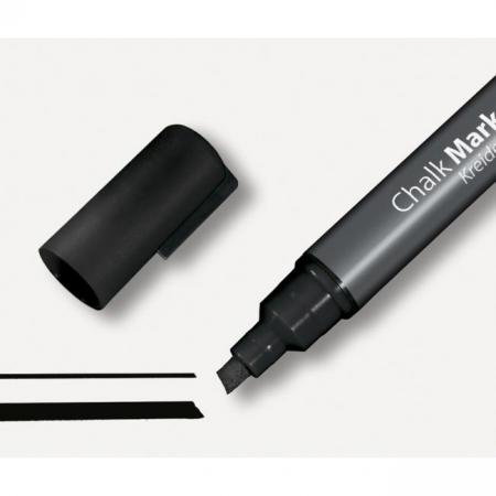Kriedový popisovač 1-5mm čierny
