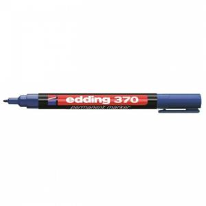 Permanentný popisovač edding 370 modrý