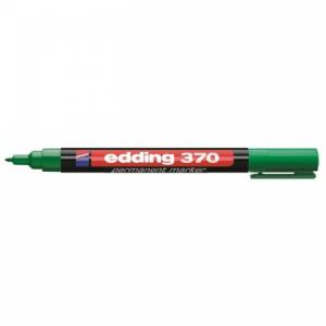 Permanentný popisovač edding 370 zelený