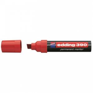 Permanentný popisovač edding 390 červený