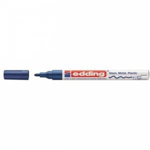 Lakový popisovač edding 751 modrý