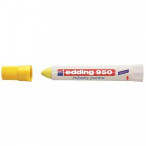 Priemyselný voskový popisovač edding 950 žltý