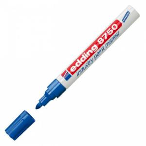 Priemyselný lakový popisovač edding 8750 modrý