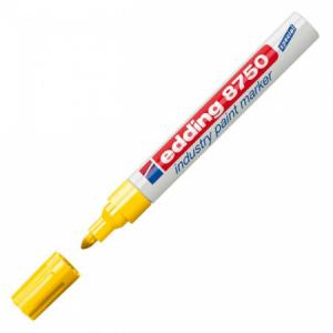 Priemyselný lakový popisovač edding 8750 žltý
