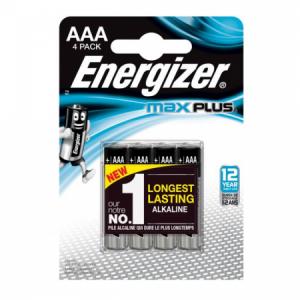 Batéria Energizer Max Plus LR03/4ks mikrotužková