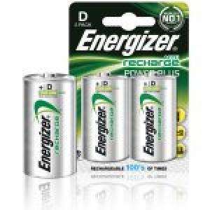 Batéria Energizer dobíjateľná HR20/2ks 2500mAh veľký monočlánok