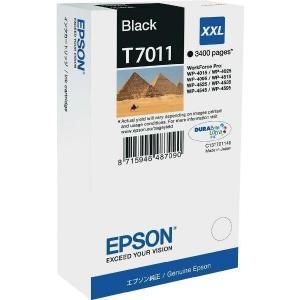 Atrament Epson T7011 black XXL C13T7011401 WP4000/WP4500