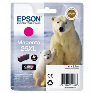 Atrament Epson T2633, 26XL Claria, magenta XP-600/700