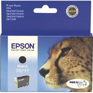 Atrament Epson T07114011 Bk (7,4 ml náplň)
