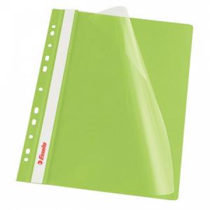Rýchloviazač PVC s eurodierovaním Esselte VIVIDA zelený