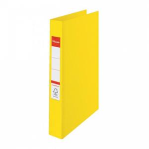 Zakladač 2-krúžkový Esselte celoplastový 4,2cm VIVIDA žltý