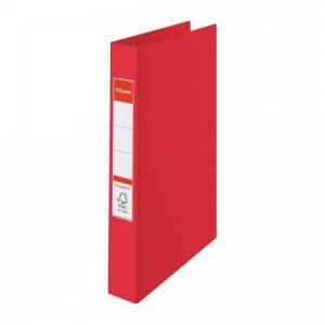 Zakladač 2-krúžkový Esselte celoplastový 4,2cm VIVIDA červený