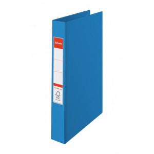 Zakladač 2-krúžkový Esselte celoplastový 4,2cm VIVIDA modrý