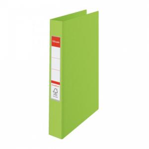 Zakladač 2-krúžkový Esselte celoplastový 4,2cm VIVIDA zelený