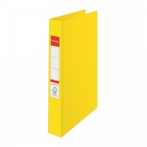 Zakladač 4-krúžkový Esselte celoplastový 4,2cm VIVIDA žltý