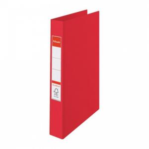 Zakladač 4-krúžkový Esselte celoplastový 4,2cm VIVIDA červený