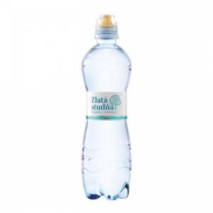 Pramenitá voda Zlatá studňa nesýtená 0,5l