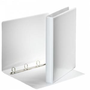 Zakladač prezentačný Esselte 3,8cm 4D-krúžkový biely