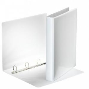 Zakladač prezentačný Esselte 4,4cm 4D-krúžkový biely