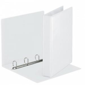 Zakladač prezentačný Esselte 5,1cm 4D-krúžkový biely