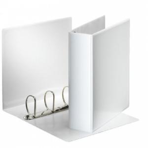 Zakladač prezentačný Esselte 8,6cm 4D-krúžkový biely