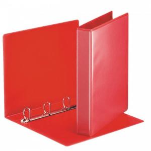 Zakladač prezentačný Esselte 5,1cm 4D-krúžkový červený