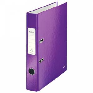 Zakladač pákový Leitz 180° WOW 5cm purpurový