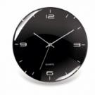 Nástenné hodiny Eleganta 29cm čierne