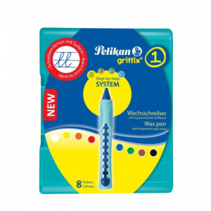 Voskové pastelky Pelikan Griffix 8S