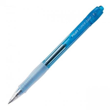 Guľôčkové pero PILOT Super Grip Neon modré