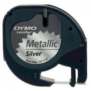 Páska Dymo pre Letratag metalická strieborná