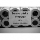 Termo páska 57/25/12 mm