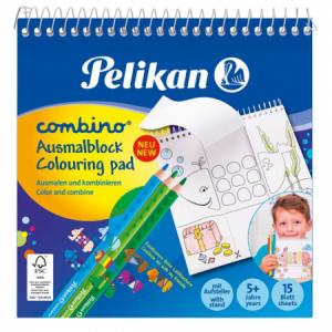 Maľovanka Pelikan Combino 15x15cm 170g/m2