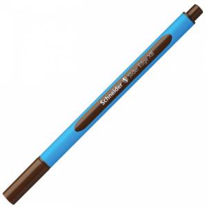 Guľôčkové pero Schneider Slider Edge XB hnedé