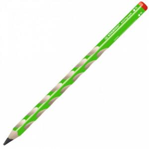 Ceruzka STABILO ergonomická EASYgraph pre pravákov zelená 12ks