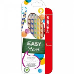 Drevené pastelky EASYcolors L 6sada