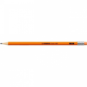 Ceruzka STABILO Swan Fluo s gumou oranžová 12ks