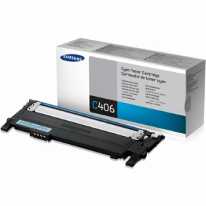 Toner Samsung CLT-C406S cyan CLP360/365, CLX 3300/3305