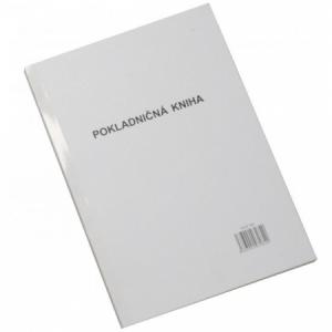 Pokladničná kniha A4 nečíslovaná 100 listov