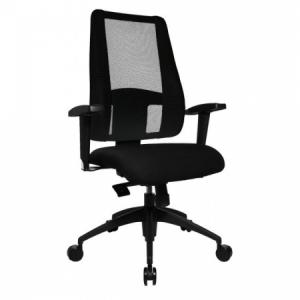 Kancelárska stolička LADY SITNESS DELUXE čierna