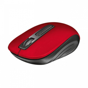 Bezdrôtová optická myš Trust Aera červená