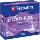 Verbatim DVD+R 8x DL 8,5GB