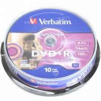 Verbatim DVD+R 16x cake10
