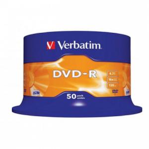 Verbatim DVD-R 16x 4,7GB cake 50 ks