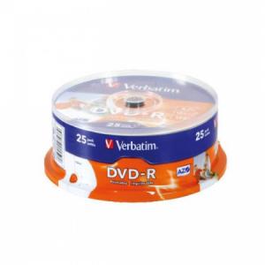 Verbatim DVD-R printable cake25