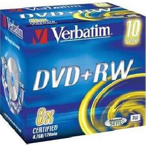 Verbatim DVD+RW 4x klasický obal