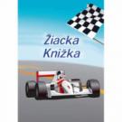 Žiacka knižka- motív Formula, 8 strán